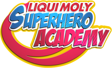 Liqui moly super heroes academy logo