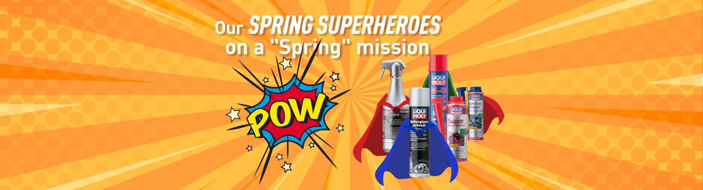 Liqui Moly Superheroes