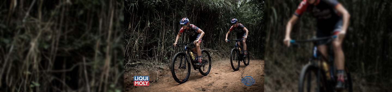 Liqui Moly sponsored cyclists training for Cape Epic race