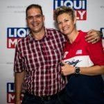 Melicia Labuschagne at Liqui Moly event