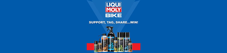 Liqui Moly bike range