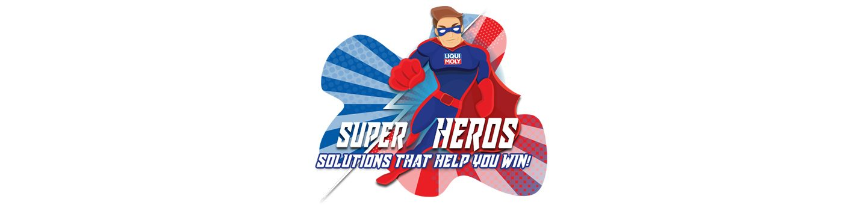 Super hero comic illustration