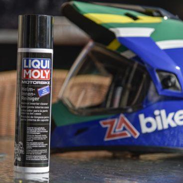 Helmet Care the LIQUI MOLY Way