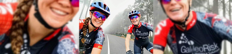 Top female cyclist sponsored by Liqui Moly